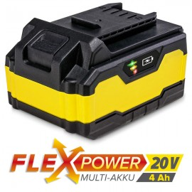 Batería Multiuso Trotec Flexpower 20 V, 4 AH