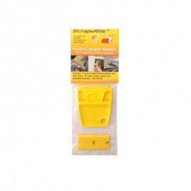 Rasqueta SCRAPERITE pack 5 cuchilla amarilla