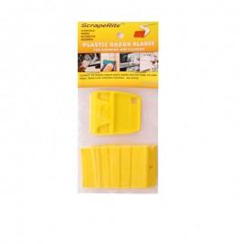 Rasqueta SCRAPERITE pack 25 cuchilla amarilla