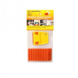 Rasqueta Scraperite pack 25 cuchilla naranja