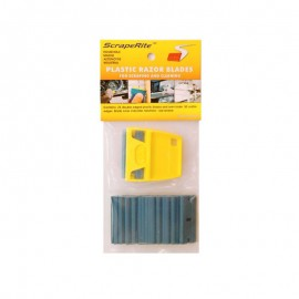 Rasqueta Scraperite pack 25 cuchillas azules
