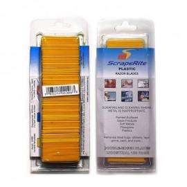 Pack de 100 cuchillas Scraperite acrílico para rasqueta