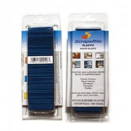 SCRAPERITE Pack 100 cuchillas azules