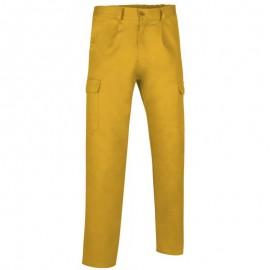 Pantalón Multibolsillos Caster Valento Amarillo