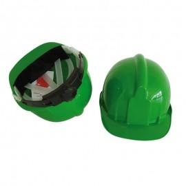 Casco Seguridad Básico con rueda Verde