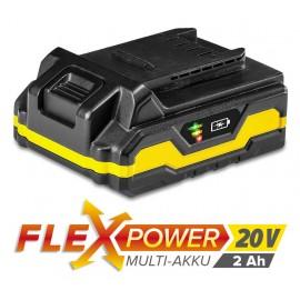 Batería Multiuso Trotec Flexpower 20 V, 2 AH