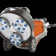 Tecnología Dual Drive para control de planetario y cabezales giratorios