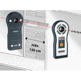 indicación del grosor de pared integrada