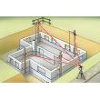 Alineación automática mediante motores de posicionamiento electrónico