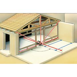 Se puede colocar verticalmente en el suelo o mediante trípode